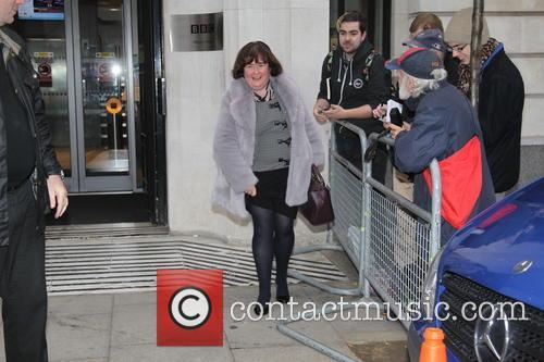 Susan Boyle at Radio 2