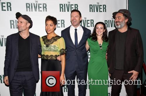 Hugh Jackman, Cush Jumbo, Ian Rickson, Laura Donnelly and Jez Butterworth 2