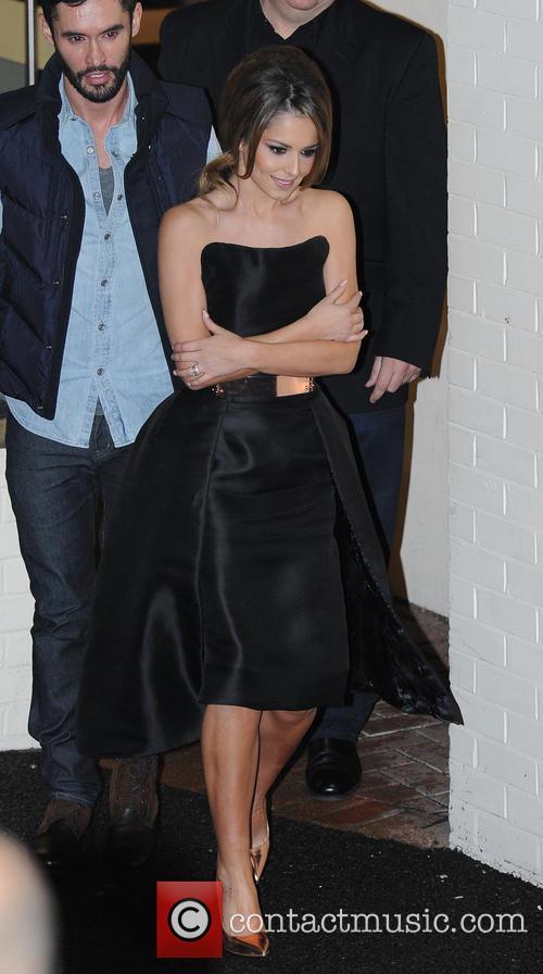 Jean-bernard Fernandez-versini, Cheryl Fernandez-versini and Cheryl Cole 2
