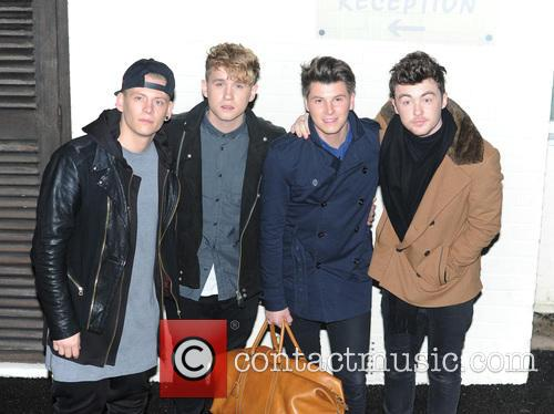 Rixton, Jake Roche, Charley Bagnall, Lewis Morgan and Danny Wilkin 4