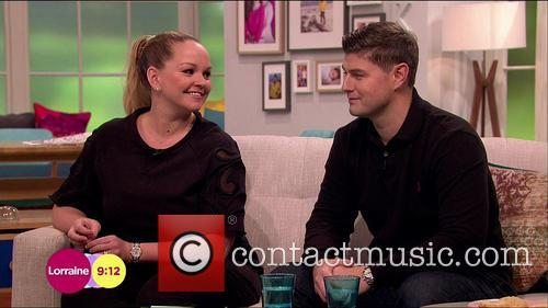 Jennifer Ellison and Robbie Tickle 1