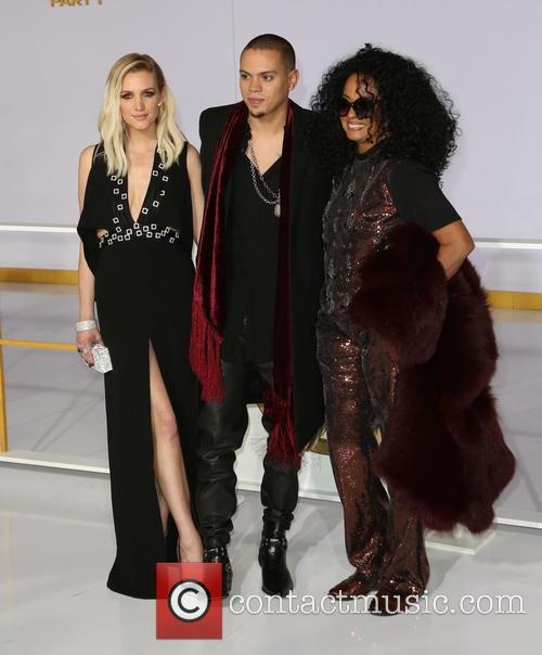 Ashlee Simpson, Evan Ross and Diana Ross 2