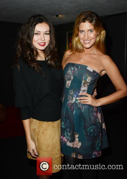 Model Irina Sosnova and Francesca Hull 2