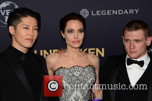 Angelina Jolie and Jack O'connell 3