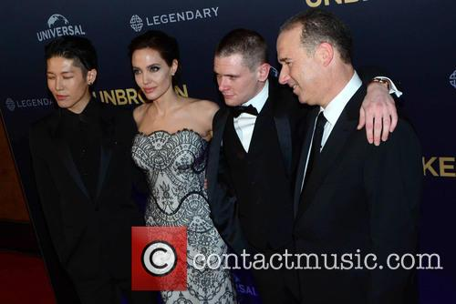 Angelina Jolie and Jack O'connell 4