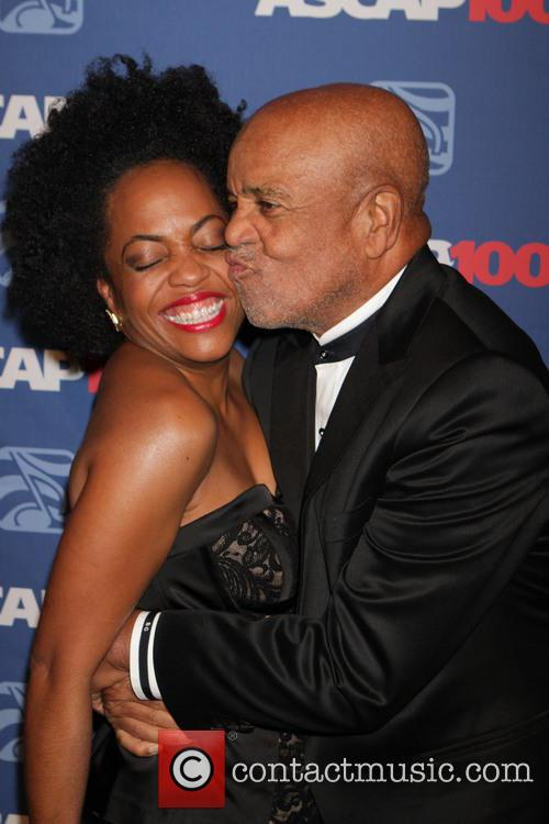 Berry Gordy and Rhonda Ross Kendrick