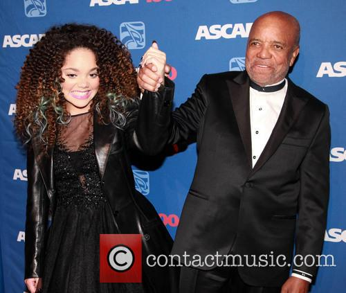 Jadagrace and Berry Gordy 2