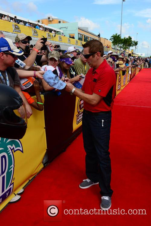 Greg Biffle and Driver Of The #16 3m Ford 2
