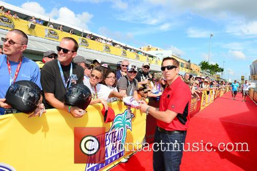 Greg Biffle and Driver Of The #16 3m Ford 1