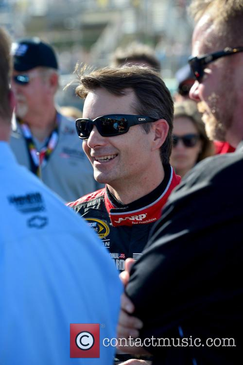 Jeff Gordon and Driver Of The #24 Drive To End Hunger Chevrolet 2