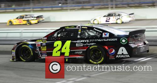 Jeff Gordon and Driver Of The #24 Drive To End Hunger Chevrolet 1