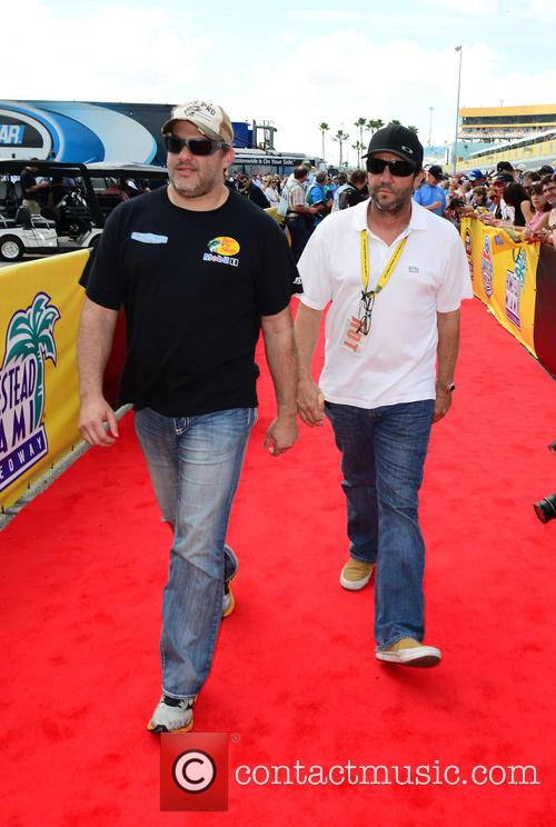 Tony Stewart and Driver Of The #14 Bass Pro Shops / Mobil 1 Chevrolet 5