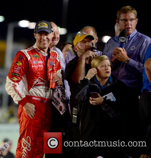 Kevin Harvick and Driver Of The #4 Budweiser Chevrolet 4