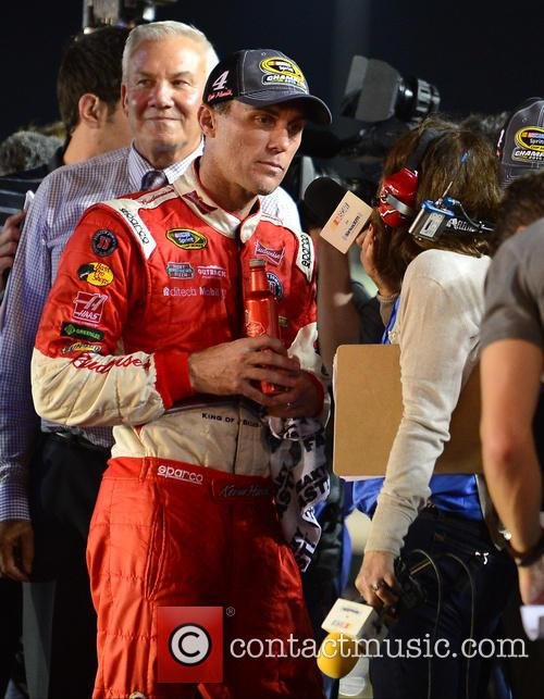 Kevin Harvick and Driver Of The #4 Budweiser Chevrolet 5