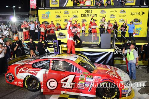 Kevin Harvick and Driver Of The #4 Budweiser Chevrolet 1