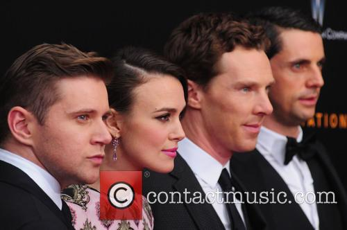 Allen Leech, Keira Knightley, Benedict Cumberbatch and Matthew Goode 5