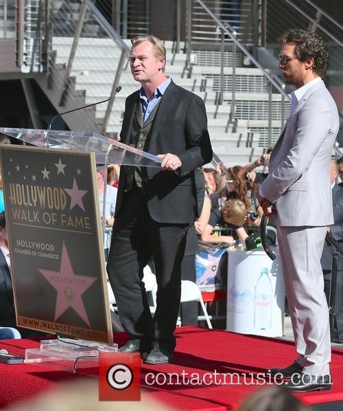 Christopher Nolan and Matthew Mcconaughey 4