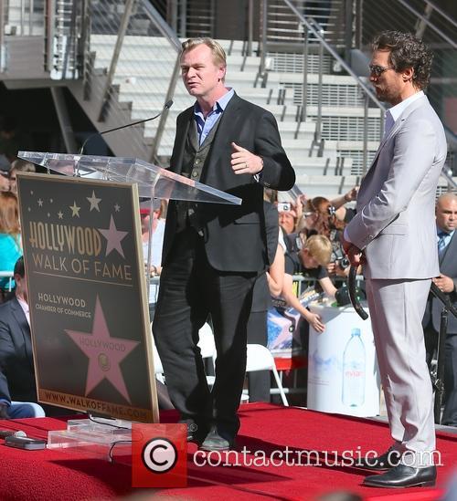 Christopher Nolan and Matthew Mcconaughey 5