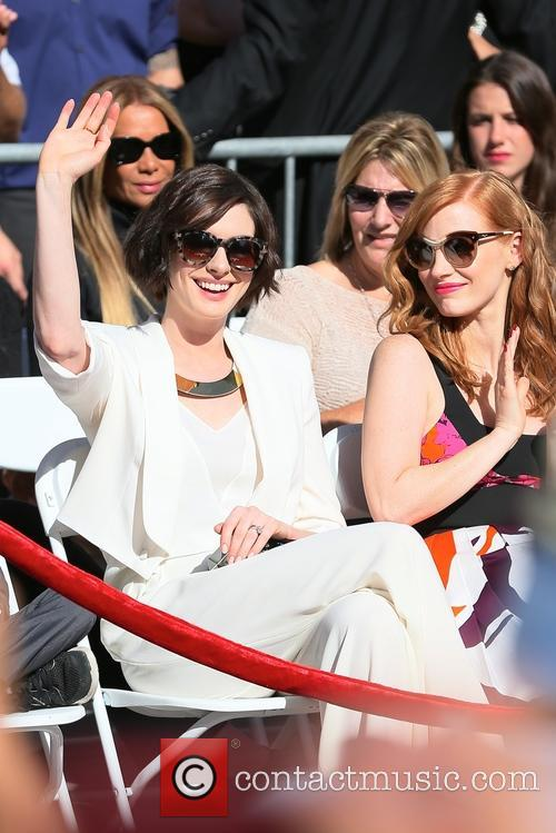 Jessica Chastain and Anne Hathaway 10