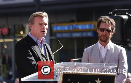 Matthew Mcconaughey and Christopher Nolan