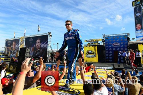 Carl Edwards and Driver Of The #99 Fastenal Ford 1