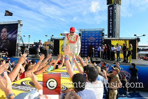 Dale Earnhardt Jr. and Driver Of The #88 National Guard Chevrolet 2