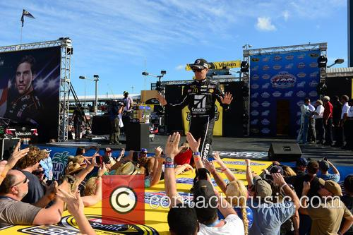 Jamie Mcmurray and Driver Of The #1 Cessna Chevrolet 11