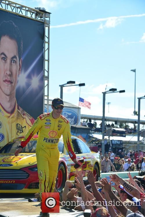 Joey Logano and Driver Of The #22 Shell-pennzoil Ford 2