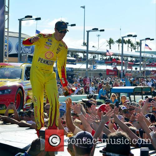 Pre-race ceremonies for the NASCAR Sprint Cup Series...