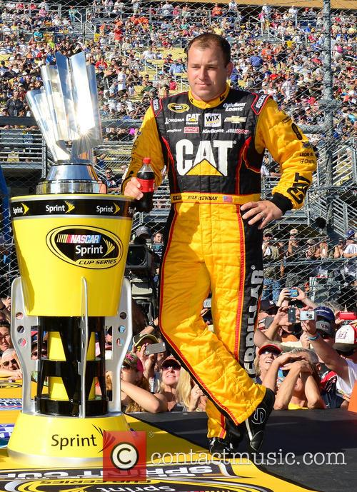 Ryan Newman and Driver Of The #31 Caterpillar Chevrolet 1