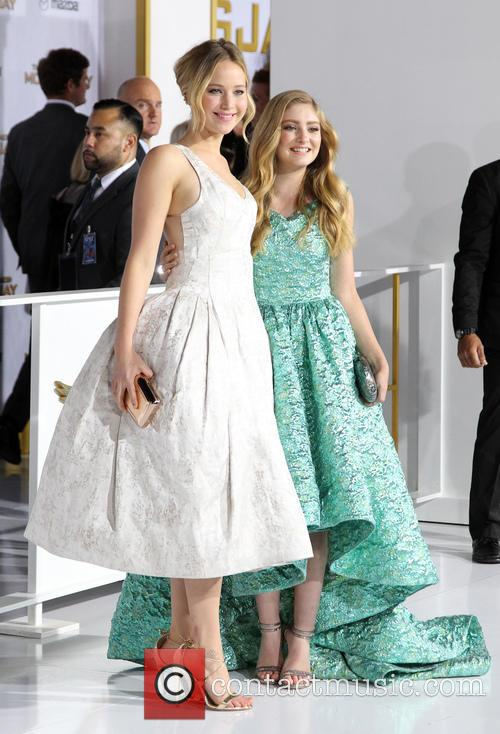 Jennifer Lawrence and Willow Shields 5