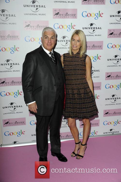 Mitch Winehouse and Caroline Stanbury