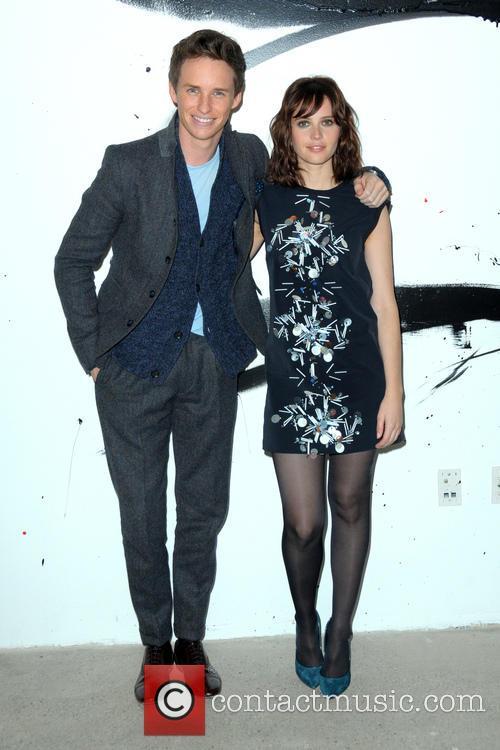 Eddie Redmayne and Felicity Jones 2