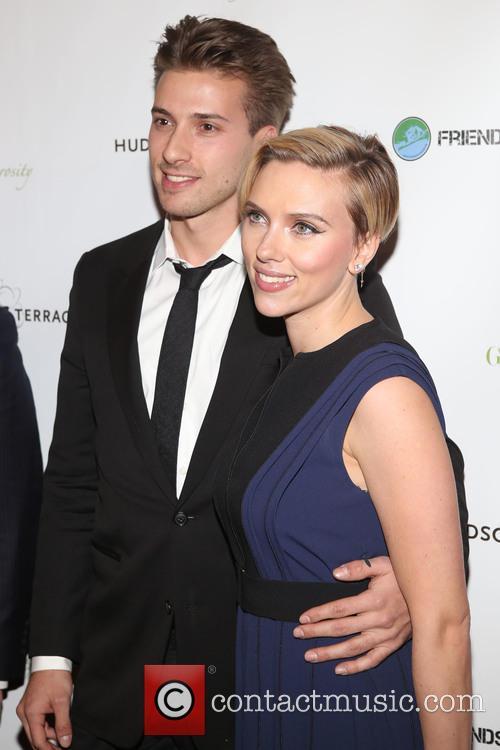 Hunter Johansson and Scarlett Johansson 2