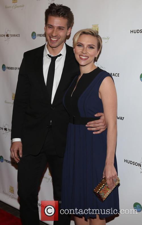 Hunter Johansson and Scarlett Johansson 3