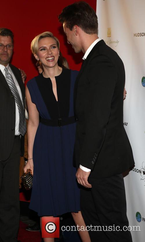 Hunter Johansson and Scarlett Johansson 1