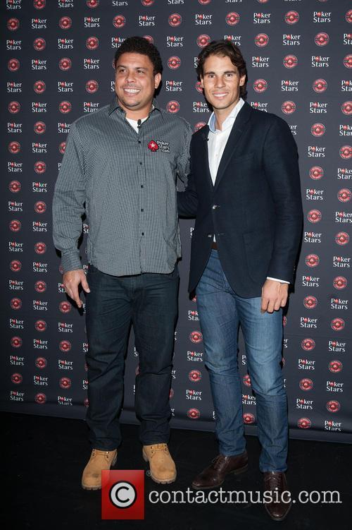 Rafael Nadal and Ronaldo 2