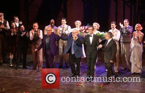 Anthony Van Laast, Henry Krieger, Bill Russell, Bill Condon and Cast 3