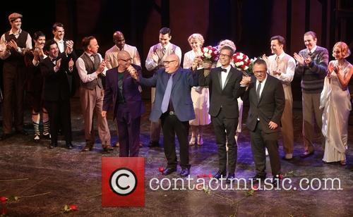 Anthony Van Laast, Henry Krieger, Bill Russell, Bill Condon and Cast 4