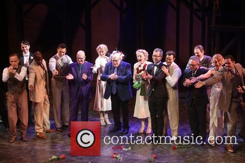 Anthony Van Laast, Henry Krieger, Bill Russell, Bill Condon and Cast 6