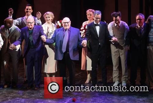 Anthony Van Laast, Henry Krieger, Bill Russell, Bill Condon and Cast 7