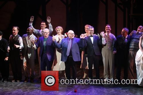 Anthony Van Laast, Henry Krieger, Bill Russell, Bill Condon and Cast 8