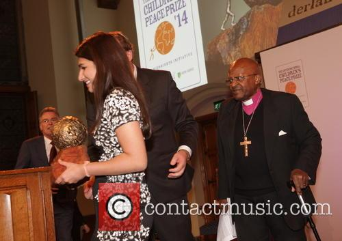 Peace, Bishop Tutu and Neha Gupta 2
