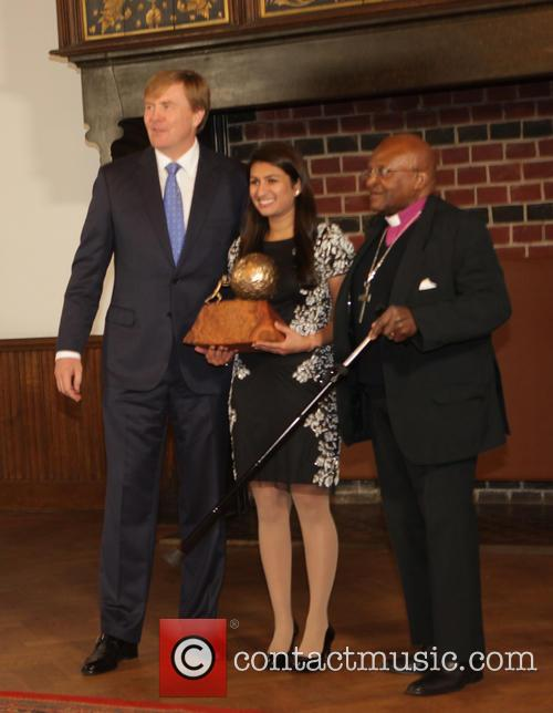 Peace, King Willem-alexander, Bishop Tutu and Neha Gupta 3