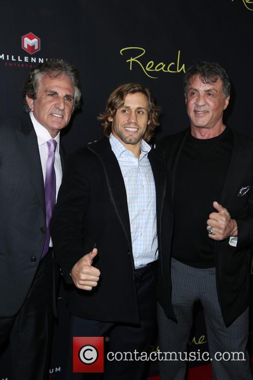 John Herzfeld, Urijah Faber and Sylvester Stallone 7
