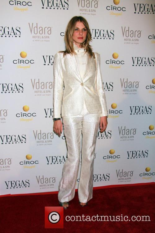 Angela Lindvall hosts Vegas Magazine's November issue