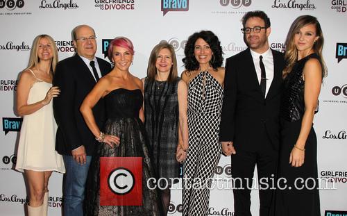 Marti Noxon, Lisa Edelstein, Paul Adelstein, Beau Garrett and Execs 11