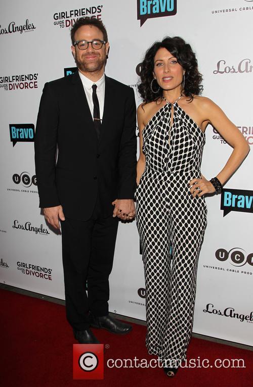 Paul Adelstein and Lisa Edelstein 5