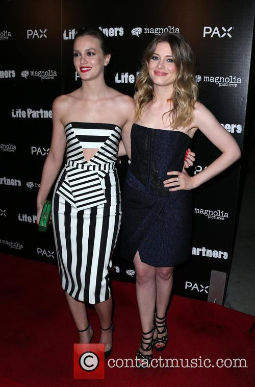 Leighton Meester and Gillian Jacobs 8