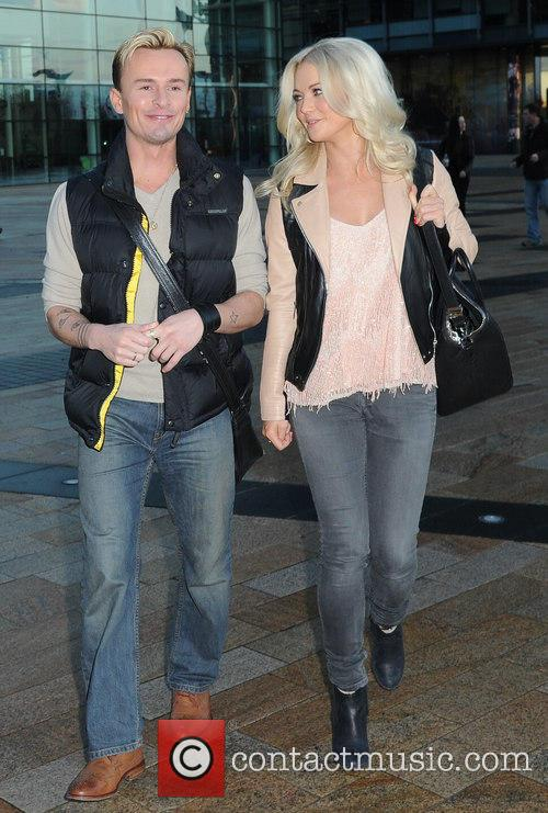 Jon Lee and Hannah Spearritt 1